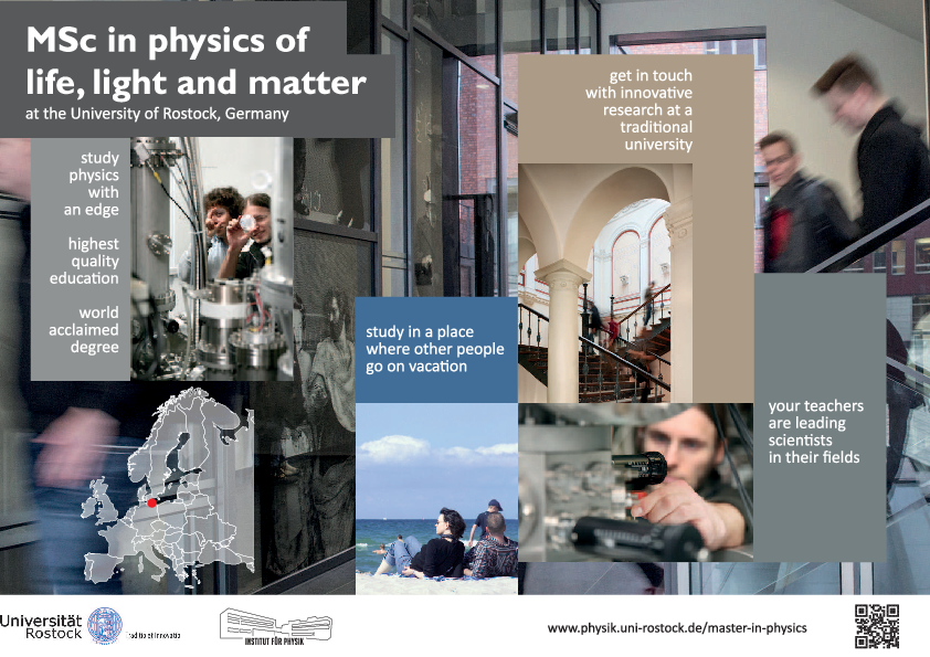 MSc in Physics of Life Light and Matter - Institut für